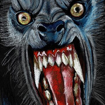 W is for Werewolf by ChantalHandley-