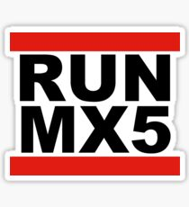Mazda Miata MX5 JDM Tuner Sticker