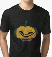 Pumpkin tick or treat Tri-blend T-Shirt
