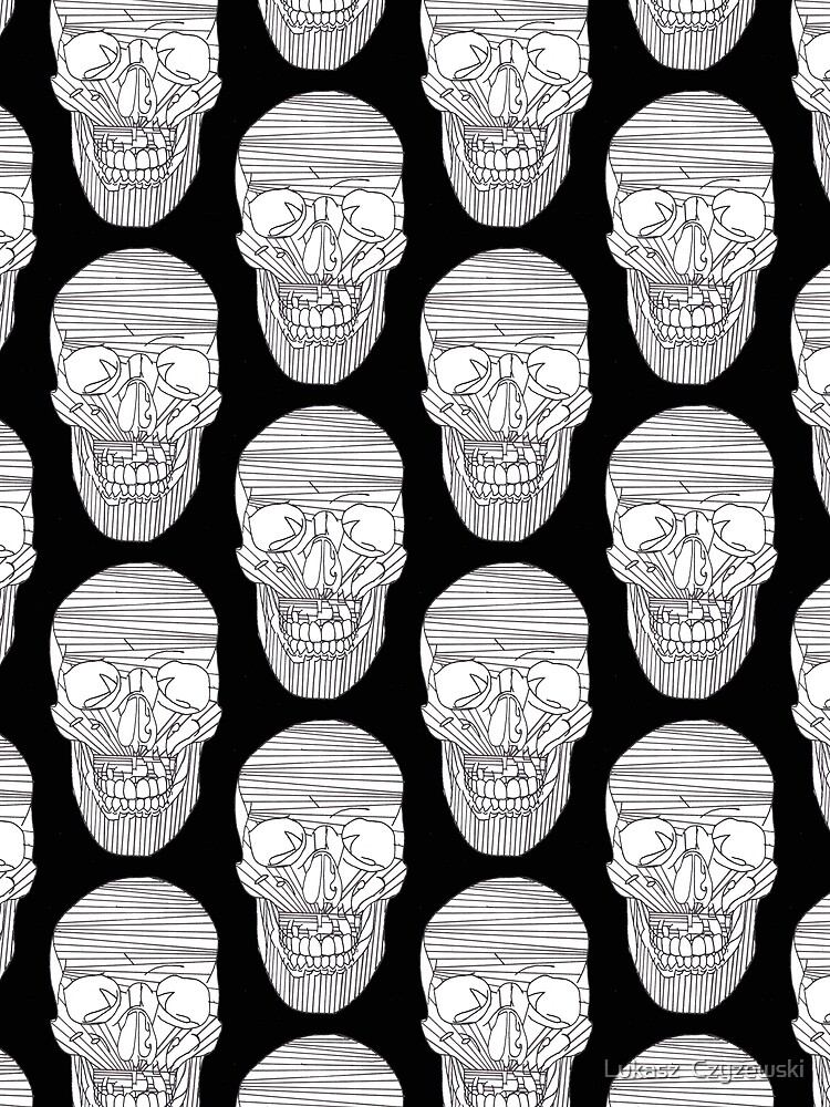 Skull lines  by Surrealist1