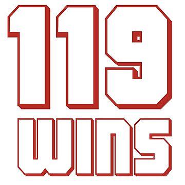 119 Wins Baseball Season  by IronEcho