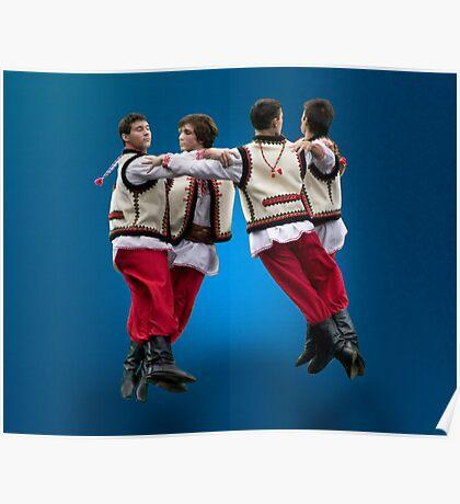 Ukrainian Dancers-Arkan Poster