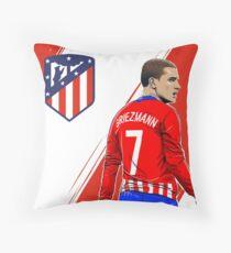 Illustration Griezmann Paint Throw Pillow
