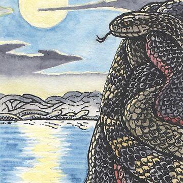 Snakescape 1 by SnakeArtist