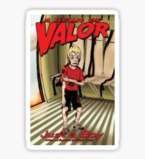 A Hymn of Valor no.1 - Just a boy cover Sticker