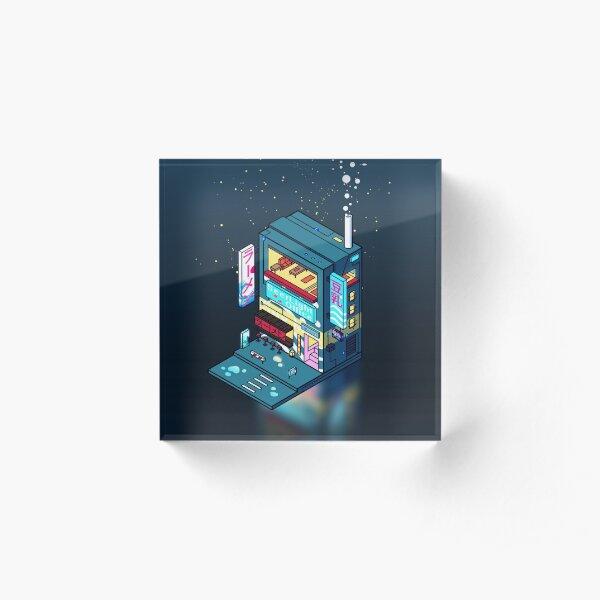 Cyberpunk Soymilk Acrylic Block