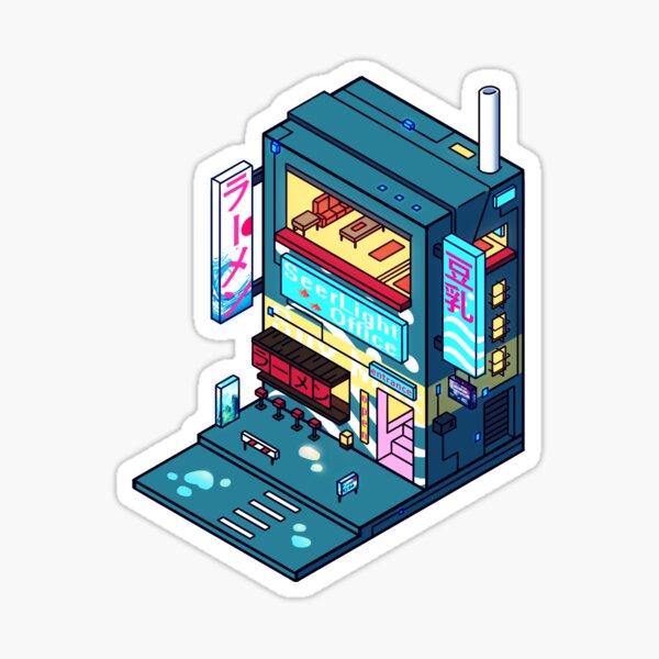 Cyberpunk Soymilk Sticker