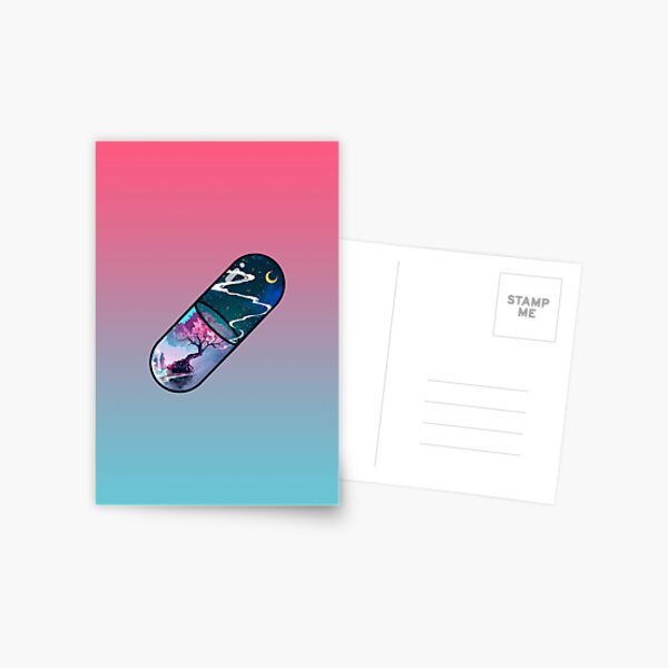 Sakura Pill Postcard