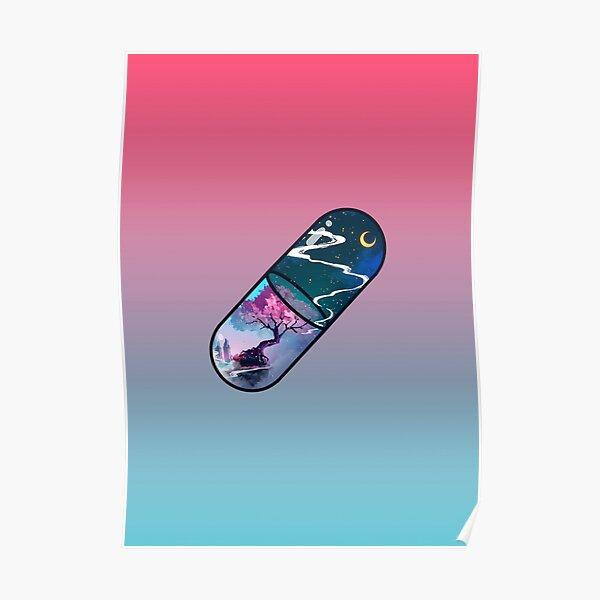 Sakura Pill Poster