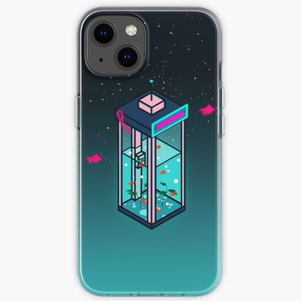 Vaporwave Phonebooth iPhone Soft Case