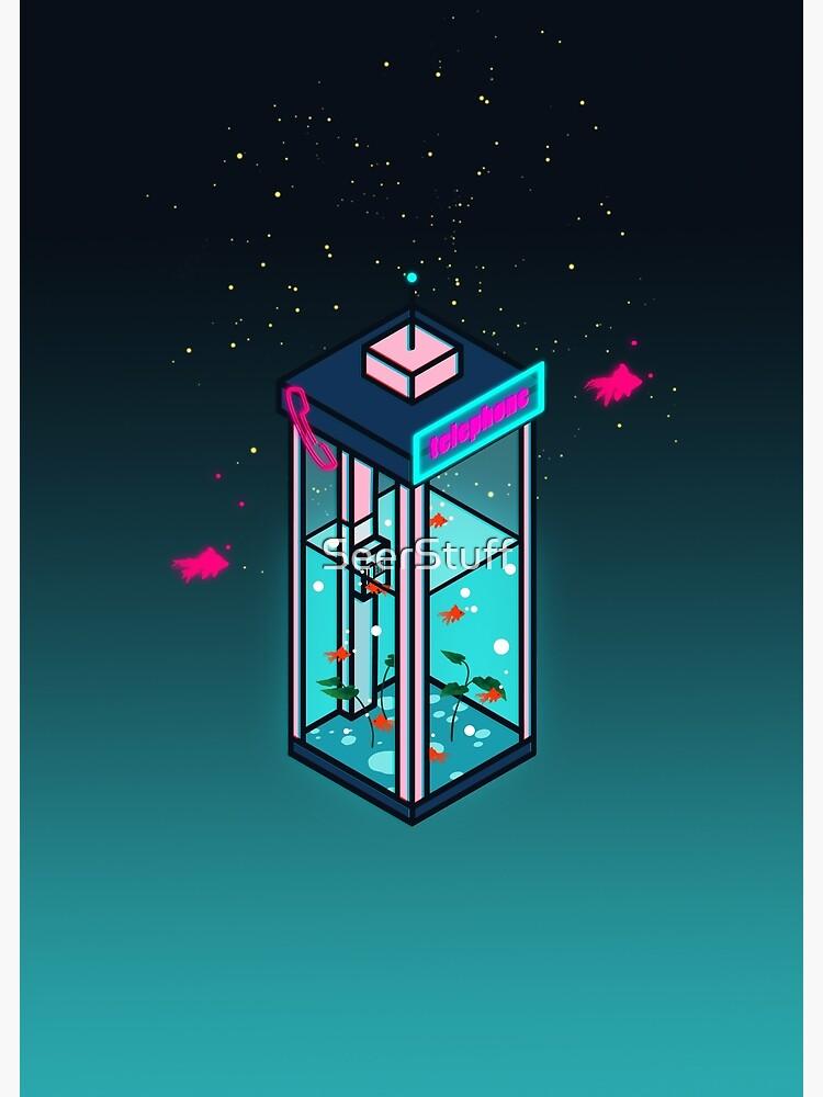 Vaporwave Phonebooth by SeerStuff