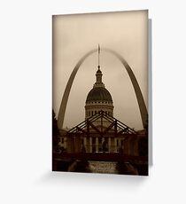 Visit St. Louis. Greeting Card