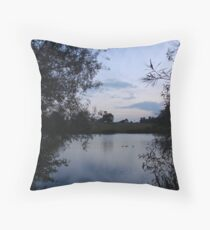 Blue Dreaming Throw Pillow
