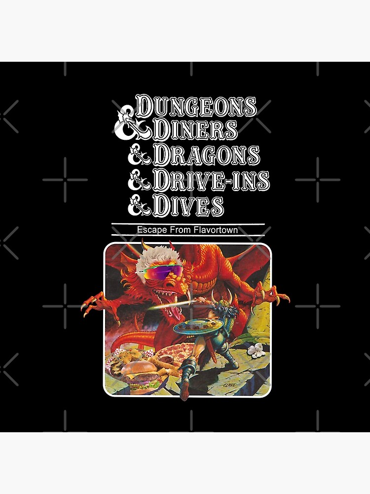 DUNGEONS DRAGONS by gnichole
