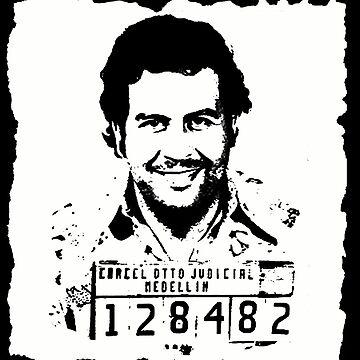 King Pablo Escobar white by Desenatorul1976
