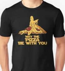 May The Pizza Be With You Unisex T-Shirt