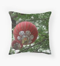 in a tree... Throw Pillow