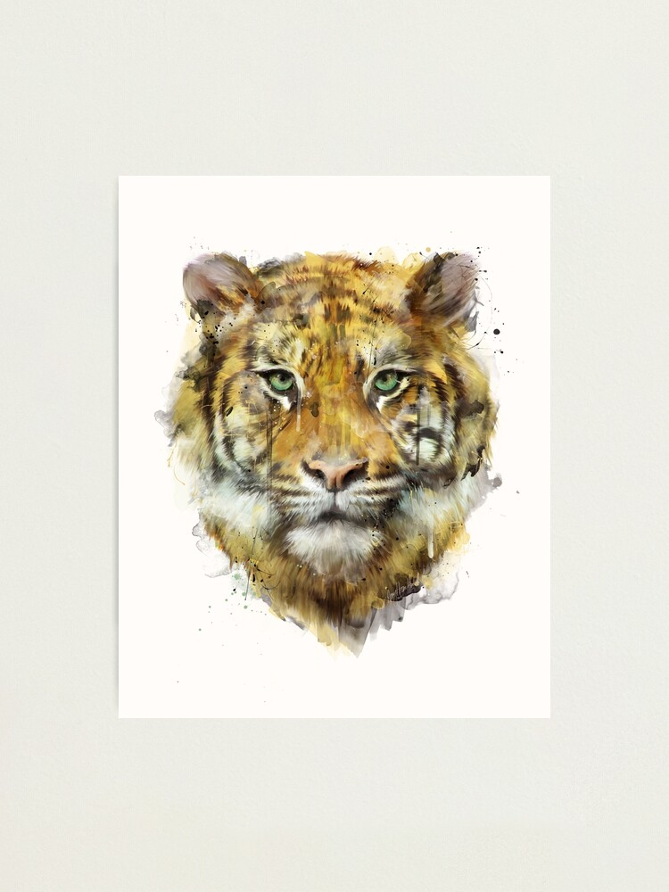Alternate view of Tiger // Strength Photographic Print