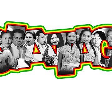 Siataga Family Reunion tee 2019 by BoloSamoa75