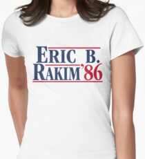 Eric B. for president Women's Fitted T-Shirt