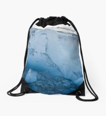 Antarctic iceberg Drawstring Bag