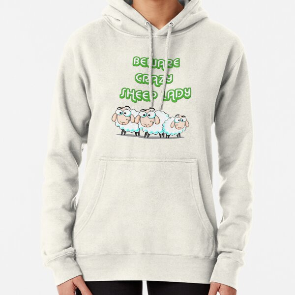 Crazy Sheep Lady Hoodie