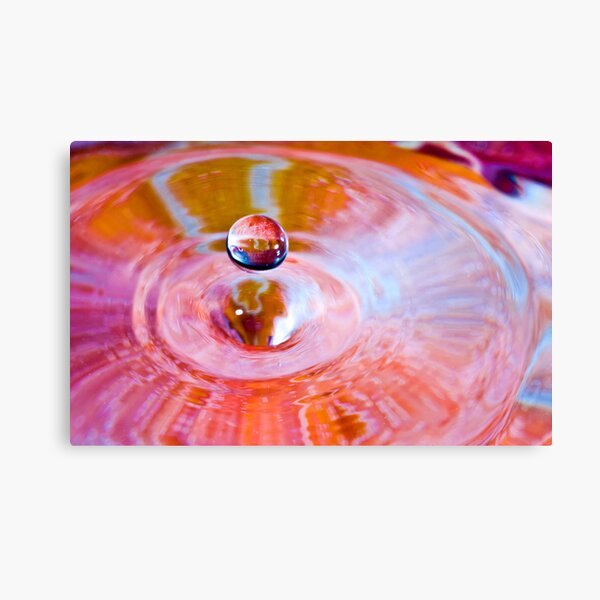 Drop in Space Canvas Print