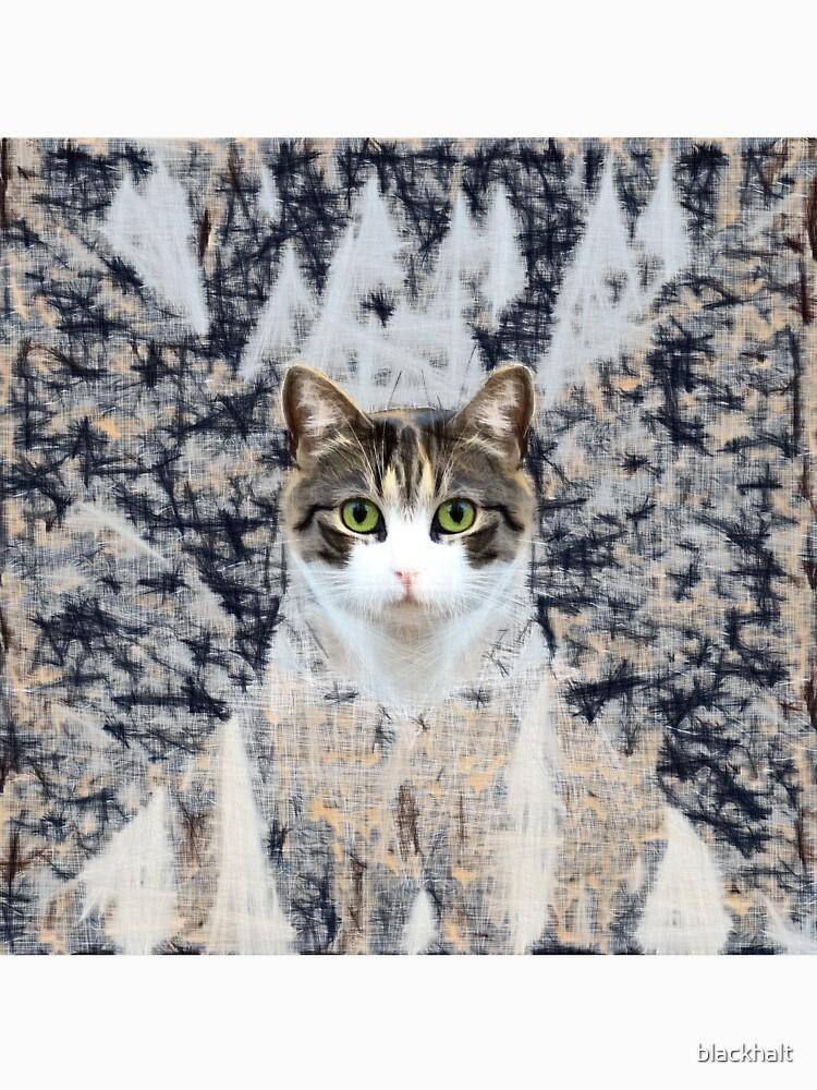 Winter Cat by blackhalt