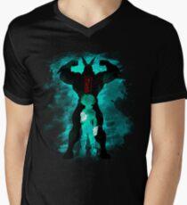 Camiseta para hombre de cuello en v Héroe