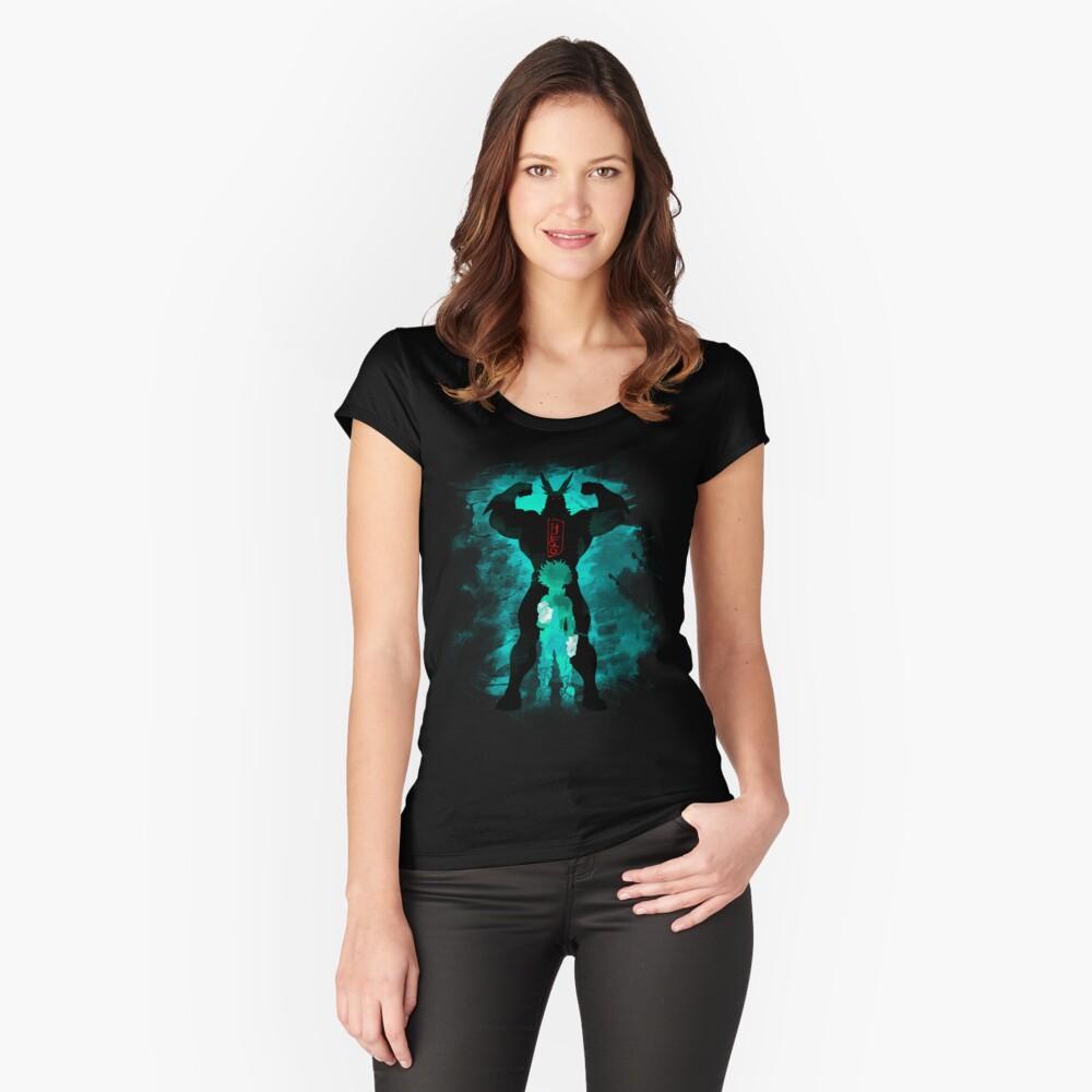 Held Tailliertes Rundhals-Shirt für Frauen Vorne