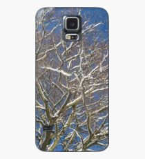 Snowy Branches Case/Skin for Samsung Galaxy