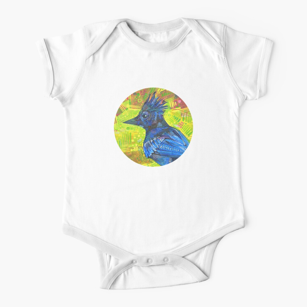Steller's jay painting - 2015 Baby One-Piece
