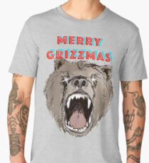 Merry Grizzmas Men's Premium T-Shirt