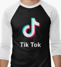 tik tok app Men's Baseball ¾ T-Shirt