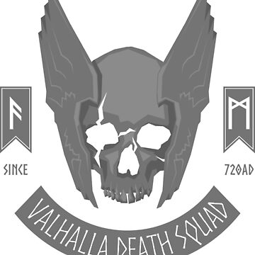 Valhalla Death Squad (Alternate) by d13design