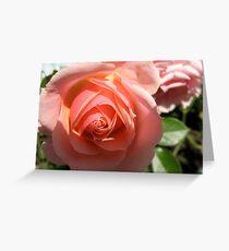 Quixotic Rose Grußkarte
