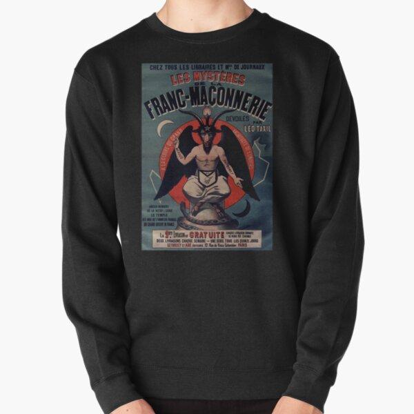 Vintage Baphomet Flyer Pullover Sweatshirt