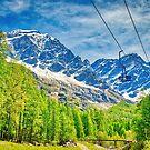 Ascent by ski resort by nicolagiordano
