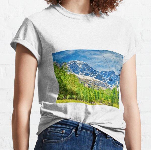 Ascent by ski resort Classic T-Shirt