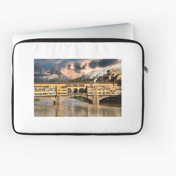 Old bridge in Florence Laptop Sleeve