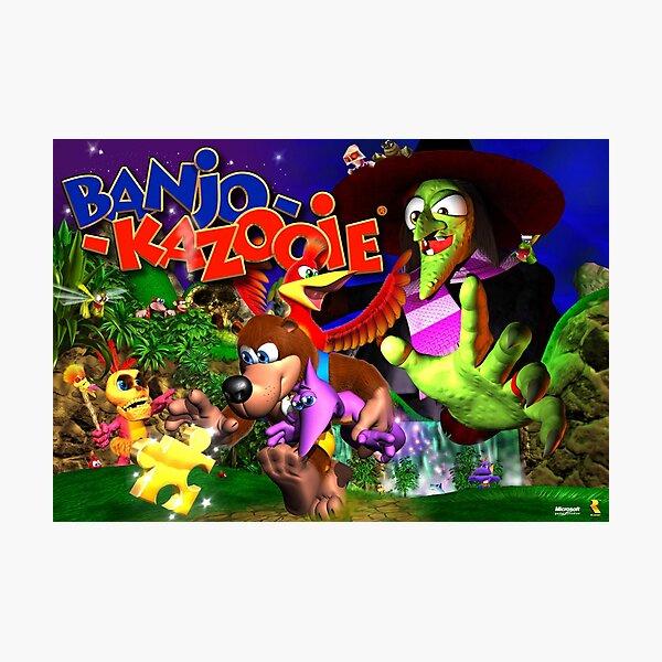 Banjo & Kazooie Photographic Print
