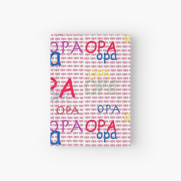 I Love My OPA Hardcover Journal