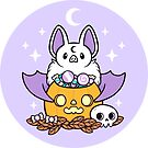 Pumpkin Bat by nikury