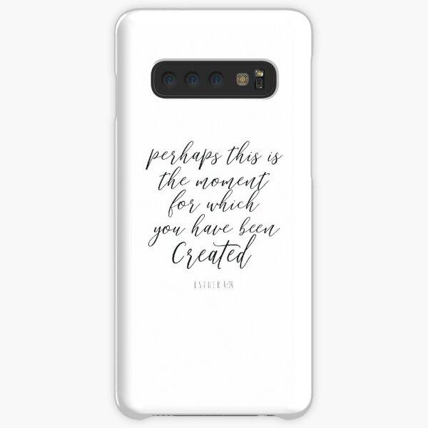 Esther 4:14  - Bible Verse Samsung Galaxy Snap Case