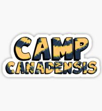 Camp Canadensis Tie Dye Sticker