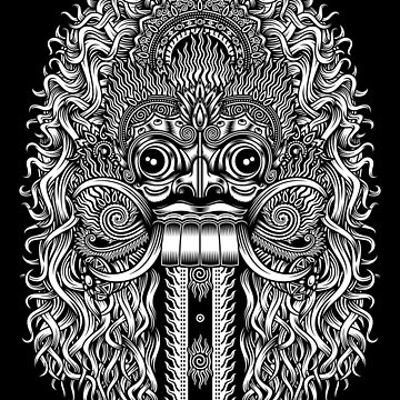 Balinese Demon Mask by Skullz23