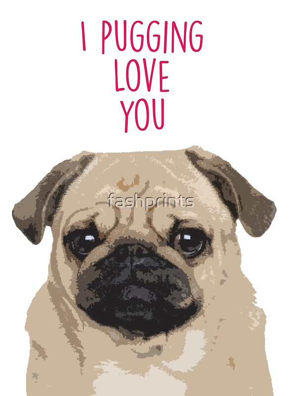 pug says i love you i love you pug gallery 3395