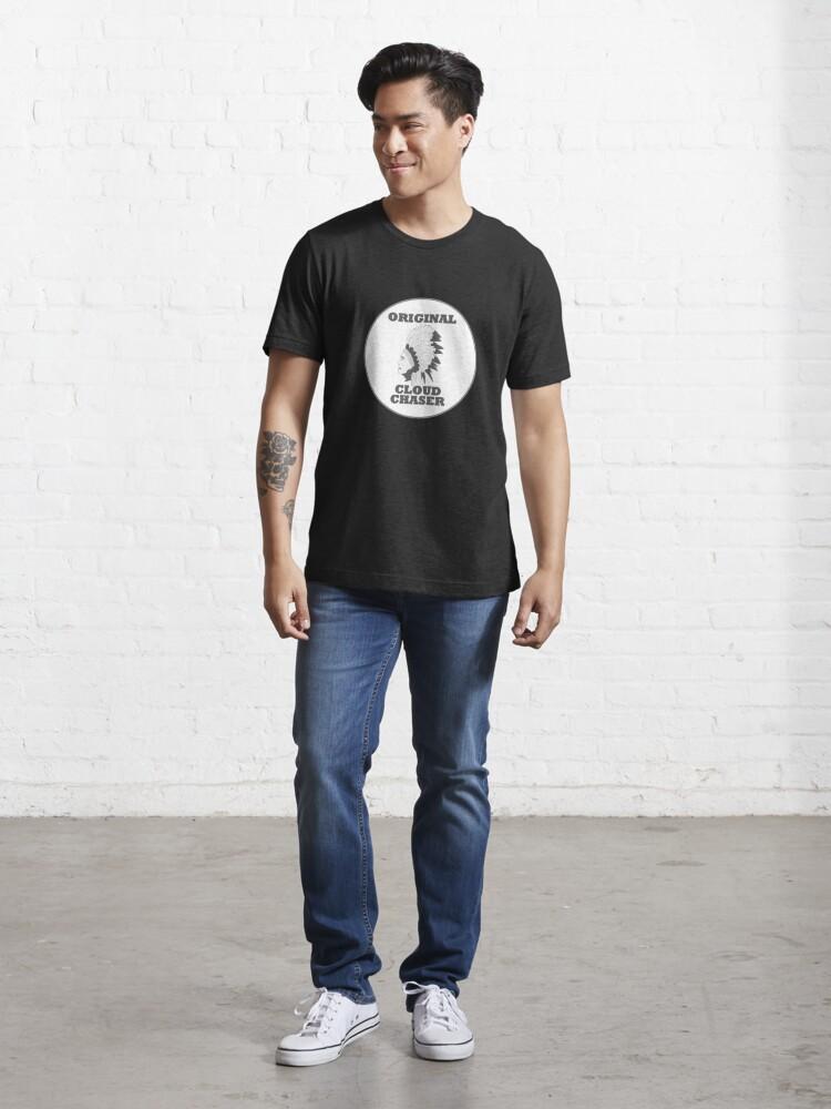 Alternate view of Vape Design Original Cloud Chaser Essential T-Shirt