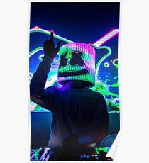 Póster marshmello DJ