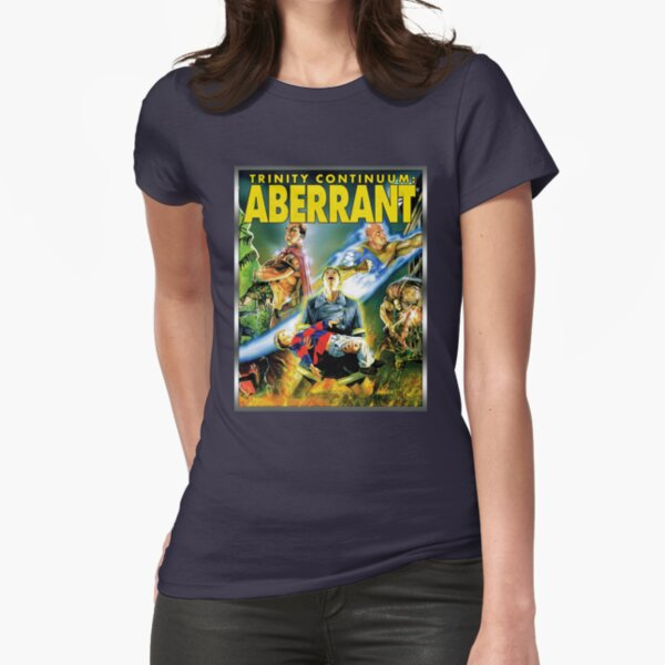 Cover Art: Aberrant Fitted T-Shirt